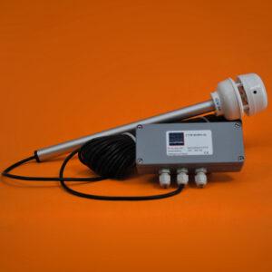 Girouette-anémomètre ultrasonique 24 VDC