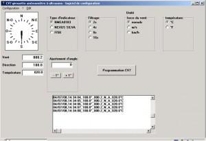 setup wind sensor LCJ Capteurs