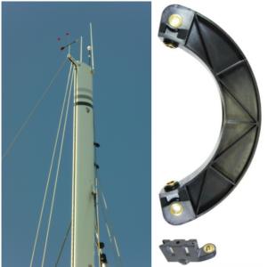capteur de vent pour mât rotatif