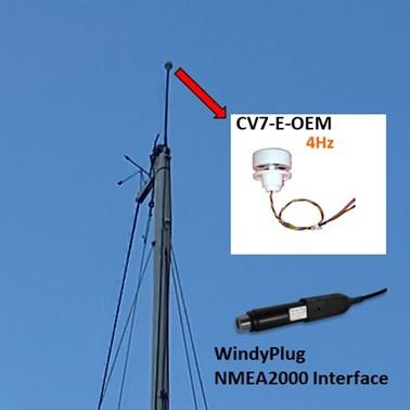 capteur de vent cv7-e-oem en fonction
