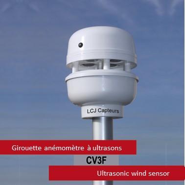 capteur de vent ultrasonique CV3F