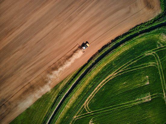 le vent dans l'agriculture de precision