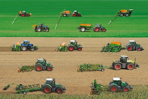 engin agricole pour l'agriculture de precision