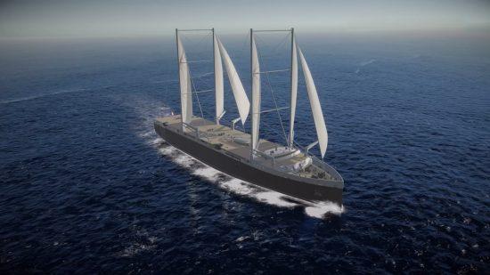 Neoliner  buque de carga para el medio ambiente