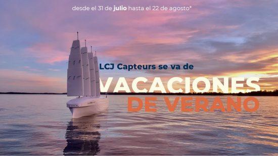 vacaciones de verano de lcj capteurs 2021