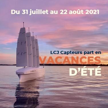 fermeture annuelle Lcj capteurs 2021